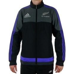 Clothing Men Jackets adidas Originals All Blacks Presentation Graphite,Black,Blue