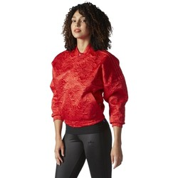 Clothing Women Jackets adidas Originals Originals Tracktop Bomber Red