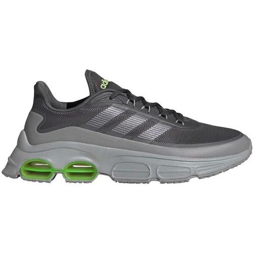Shoes Men Low top trainers adidas Originals Quadcube Grey,Green