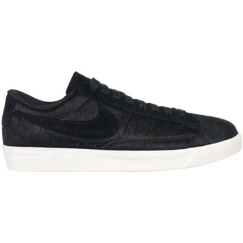 Shoes Women Low top trainers Nike W Blazer Low LX Black