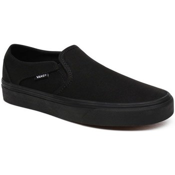 Shoes Women Slip-ons Vans WM Asher Canvas Black