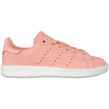 Shoes Women Low top trainers adidas Originals Stan Smith Boost Pink
