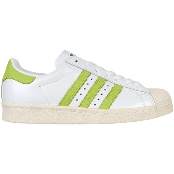 Shoes Men Low top trainers adidas Originals Superstar 80S White,Green
