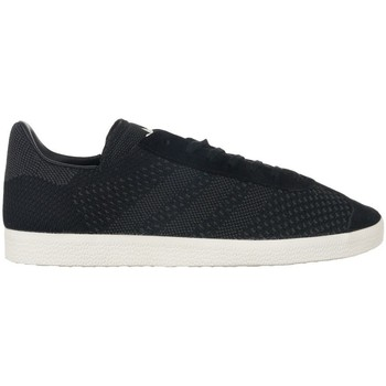 Shoes Men Low top trainers adidas Originals Gazelle Primeknit Black