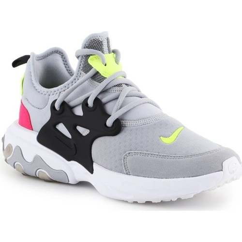 Shoes Women Low top trainers Nike React Presto 9 GS Black, Grey, Pink