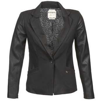 Clothing Women Jackets / Blazers Kaporal SOMA Black