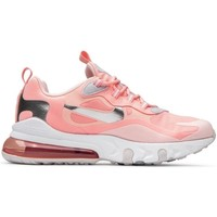Shoes Women Low top trainers Nike Air Max 270 React GG Pink
