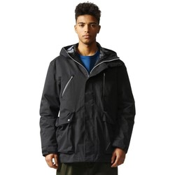 Clothing Men Jackets adidas Originals Primaloft Goretex Black