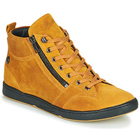 Shoes Women Hi top trainers Pataugas JULIA/CR F4F Ocre tan