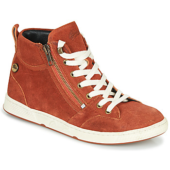 Shoes Women Hi top trainers Pataugas JULIA/CR F4F Brick