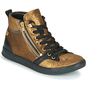Shoes Women Hi top trainers Pataugas JULIA/CR F4F Gold