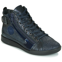 Shoes Women Hi top trainers Pataugas PALME/C F4F Marine