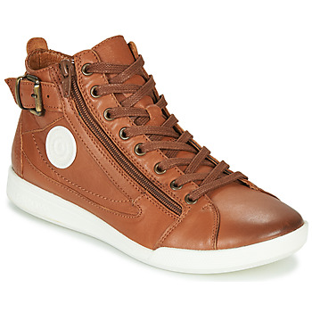 Shoes Women Hi top trainers Pataugas PALME/N F4D Cognac