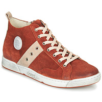 Shoes Men Hi top trainers Pataugas JAGGER/CR H4F Brick