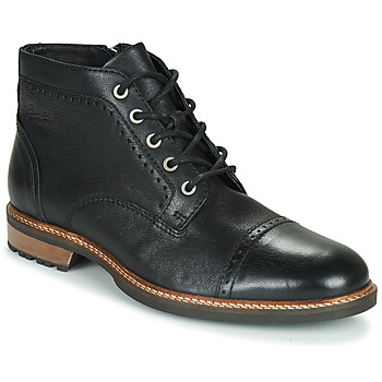 Edwardian Men's Shoes & Boots | 1900, 1910s Pataugas  RENAUD H4F  mens Mid Boots in Black £129.63 AT vintagedancer.com