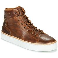 Shoes Men Hi top trainers Pataugas SERGIO H4F Cognac