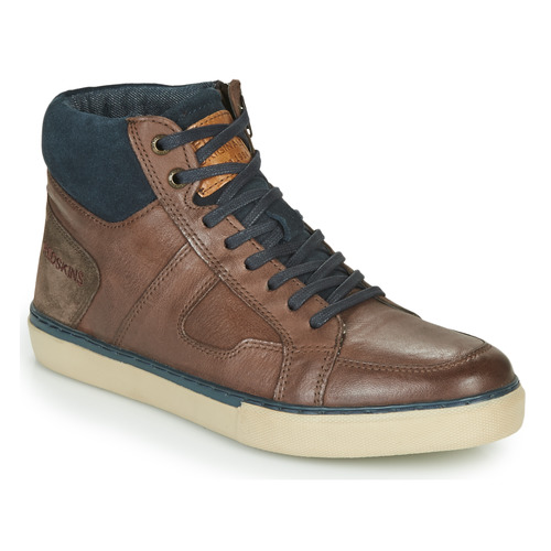 Shoes Men Hi top trainers Redskins CIZAIN Brown