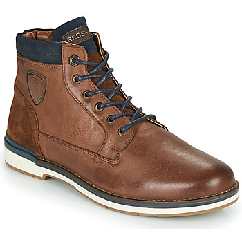 Shoes Men Mid boots Redskins ACCRO Brown