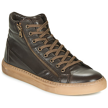 Shoes Men Hi top trainers Redskins NERINO Brown