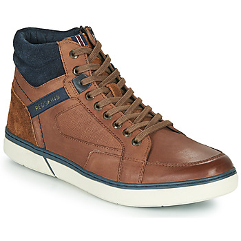 Shoes Men Hi top trainers Redskins ZOUK Brown