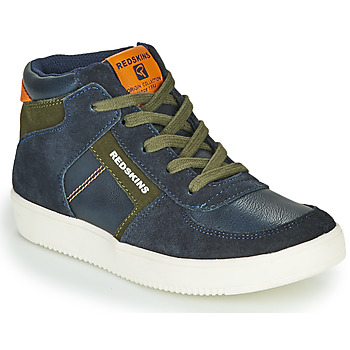 Shoes Boy Hi top trainers Redskins LAVAL KID Marine / Kaki