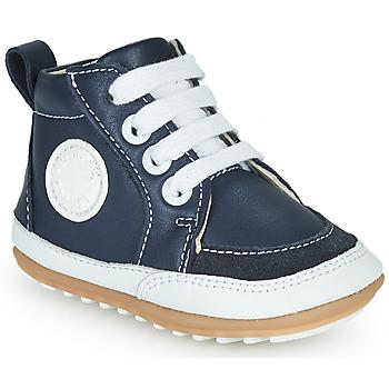 Shoes Children Hi top trainers Robeez MIGO Marine