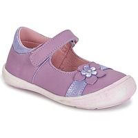 Shoes Girl Flat shoes Citrouille et Compagnie RETUNE Purple