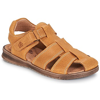 Shoes Boy Sandals Citrouille et Compagnie MELTOUNE Brown