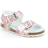 Shoes Girl Sandals Grunland SB0810 Silver