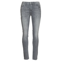 Clothing Women Slim jeans Karl Lagerfeld SKINNY DENIMS W/ CHAIN Grey