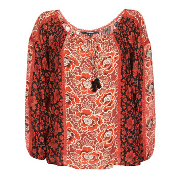 Clothing Women Tops / Blouses Desigual ROSAL Red