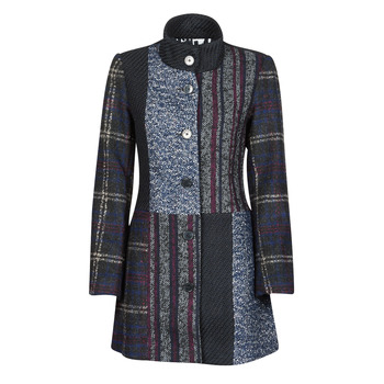 Clothing Women Coats Desigual HAAKON Blue