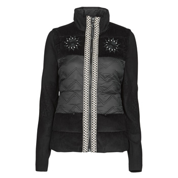 Clothing Women Jackets Desigual EDIMBURGO Black