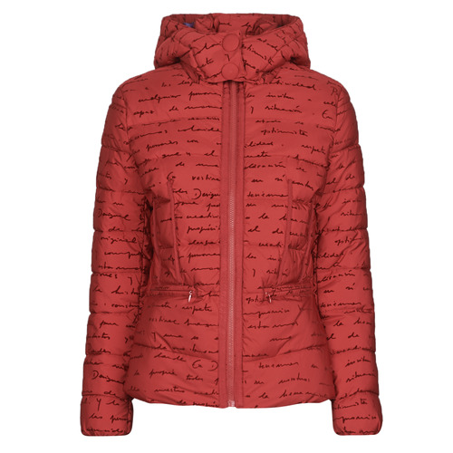 Clothing Women Duffel coats Desigual NATASHA Red