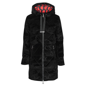 Clothing Women Duffel coats Desigual OLYA Black