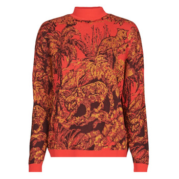 Clothing Women Jumpers Desigual HALIFAX Red