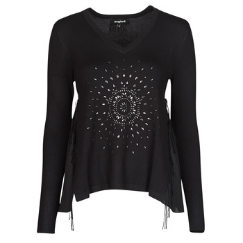 Clothing Women Jumpers Desigual BARI Black