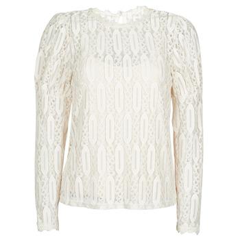 Clothing Women Short-sleeved t-shirts Cream VIVI LS TSHIRT Beige