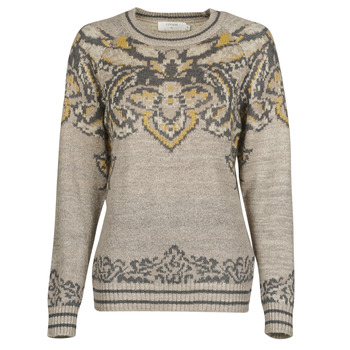 Clothing Women Jumpers Cream SELMI PULLOVER Brown