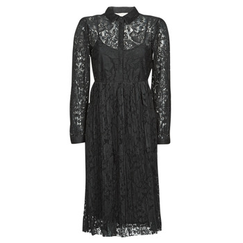 Clothing Women Short Dresses Cream ALICIA DRESS Black