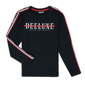 Clothing Boy Long sleeved tee-shirts Deeluxe RALFY Black