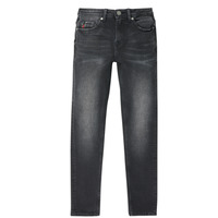 Clothing Boy Slim jeans Deeluxe CARLOS Black