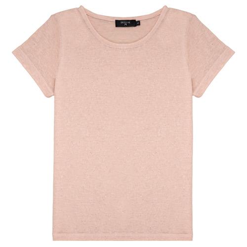 Clothing Girl Short-sleeved t-shirts Deeluxe GLITTER Pink
