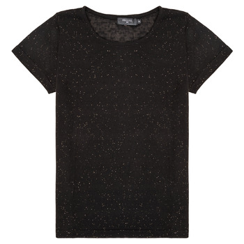 Clothing Girl Short-sleeved t-shirts Deeluxe GLITTER Black
