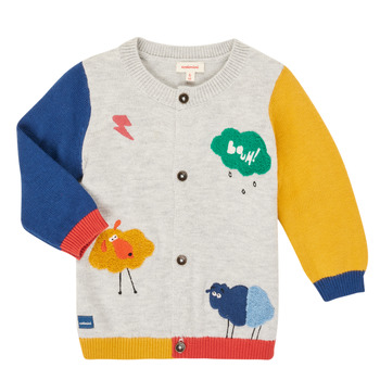 Clothing Boy Jackets / Cardigans Catimini CR18020-20 Multicolour