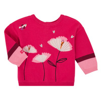 Clothing Girl Jackets / Cardigans Catimini CR18033-35 Pink