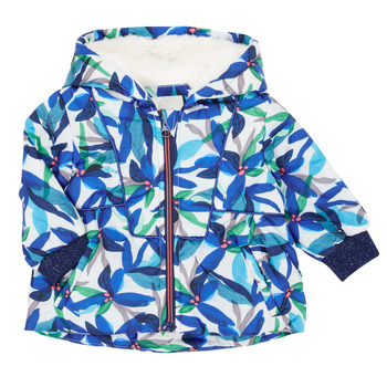 Clothing Girl Parkas Catimini CR42053-88 Multicolour