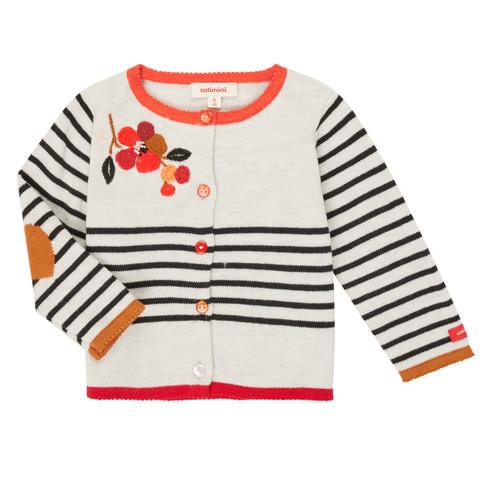Clothing Girl Jackets / Cardigans Catimini CR18003-19 Multicolour