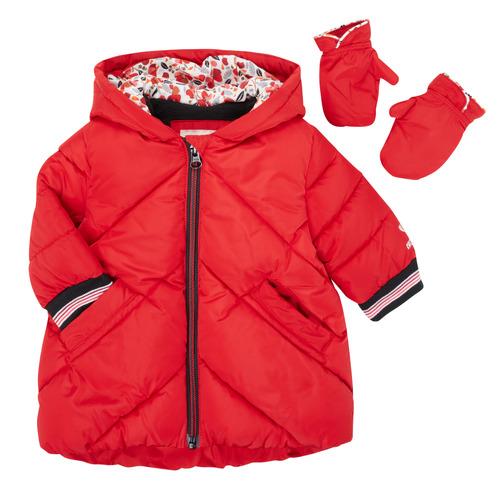 Clothing Girl Duffel coats Catimini CR42013-38 Red