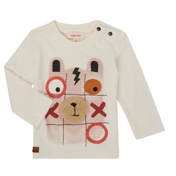 Clothing Boy Long sleeved tee-shirts Catimini CR10052-11 White